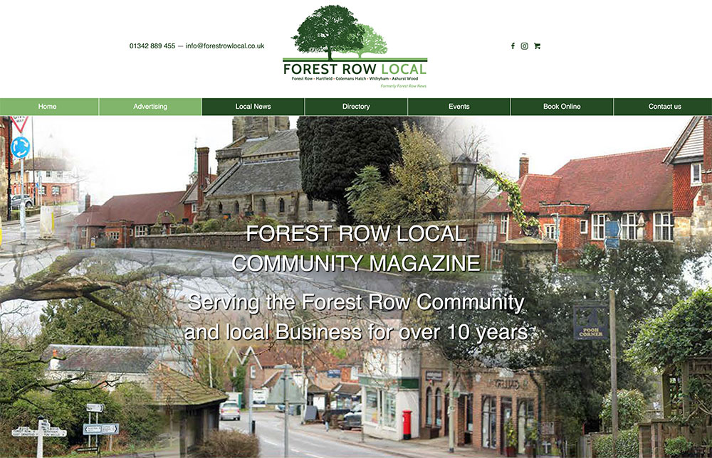 Forest Row Local New Website