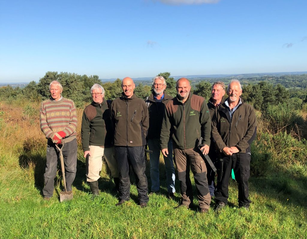 AF Conservation Volunteers - Uckfield Lions